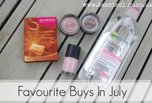 Collabortation of Monthly Favourite Products / Looking to see whats hot this month? Check out this great collection of post's on bloggers favourites