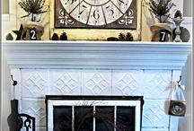 fireplace  / by Kerri Busby