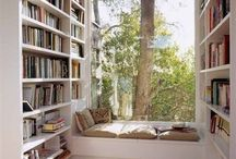 Where Books Live / dreaming of a home library