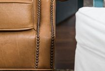Leather Sofa / Luxury Furniture