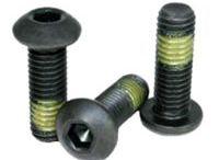 Pre-applied Adhesive Locking Screws