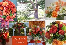 Fall Wedding Colors / 2014 Fall Wedding Colors and Trends