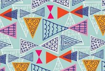 Pattern and Prints- Geo and abstract