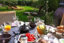 Petits déjeuners Fleurs de Soleil France / petits déjeuners , terroir , gourmandises , yummy