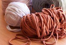 Trapillo / t shirt yarn / by Maria Tenorio