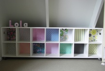 up-cycled cubby holes