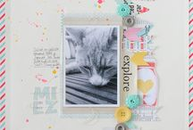 Scrapbooking / ... its all about the page ....