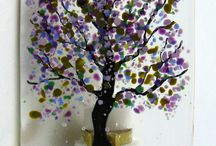 fused glass ideas / by Judy Jackson