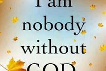 I am nobody without God❤️