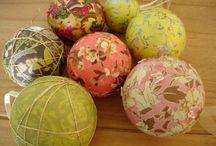 Christmas Bauble Ideas / Homemade Christmas Baubles