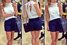 Modelo roupas