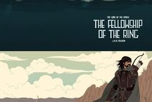 El hobbit y LOTR