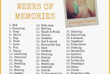 52 weeks Photography Challenge