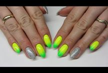 Summer Nail Art / Nehty s letními motivy a barvami. Ponořte se do moře letního nail artu.