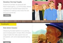 N is for Newsletters / The latest news from Animatic Media and Storyboards Online