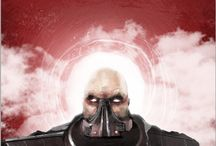 DARTH MALGUS HIGH DETAIL GAME CHARACTER