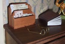 Mini Tutes Office / Tutorials for making miniature items for an office