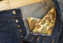 jeans wstawki