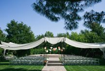 L&J Ceremony Canopy / canopy over the outdoor ceremony