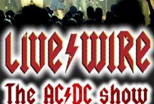 LIVE/WIRE A SALUTE TO AC/DC / LIVE WIRE at The Newton Theatre 8/1/2015. In an explosive, high voltage performance LIVE WIRE will pump out the best of AC/DC including all the biggest hits and fan favorites like You Shook Me All Night Long, Highway To Hell, Back In Black, Dirty Deeds Done Dirt Cheap, T.N.T., Whole Lotta Rosie, Shoot To Thrill, Hells Bells and and many more.