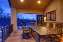 Outdoor Living Spaces / The best part of building a custom home is picking your spaces!  In addition to being one of the hottest trends, outdoor living spaces extend your homes square footage to the great outdoors.