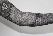 Татуировка мандала