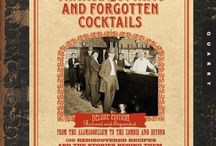 Cocktail Books I own / by Maria Leotta