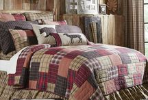 Red Rustic & Lodge Quilts