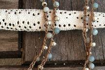 Sieraden / Gehaakte ketting met kralen