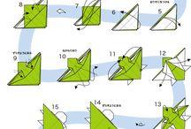 折り紙折図
