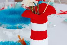 Michelle Dr. Seuss Shower / One Fish, Blue Fish, Red Fish, New Fish