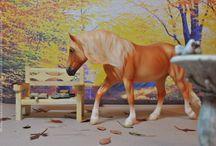Model Horse (Breyer, Schleich, other): Autumn / Мое любимое время года - осень, поэтому фотографий на эту тему у меня довольно большое количество.