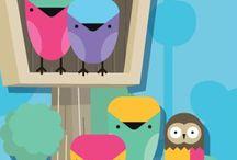 Decoración de aula / Dibujos decorativos