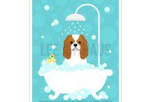 Lee ArtHaus Cavalier King Charles Spaniel Dog Products / Lee ArtHaus Cavalier King Charles Spaniel Dog PRoducts