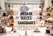 Candy bar / Dulce's y decoration