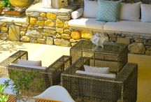 Fabulous outdoor living! / The outdoor spaces at VLK on Rhodes