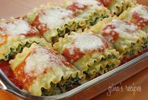 pasta recipes / by Anne Rutherford