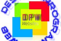 Logos creados / Logos www.dpw.cl