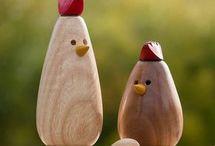 påske høns
