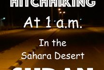 Cool Travel Stories / Backpacking around the world naturally you are going to encounter some crazy travel stories. Here there are posts about hitchhiking at night time in Sudan, feeding wild hyena & pushing my mum around Argentina in a wheelchair. Life is an adventure I intend having plenty more stories to share..