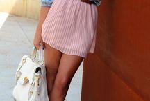 Pleaded Skirts