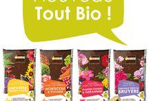 Terreaux J'DEA / Les terreaux J'DEA sont utilisables en Agriculture Biologique et fabriqués en France. Les terreaux J'DEA proposent une recette adaptée à chaque besoin !  www.jdea.fr