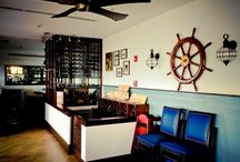 The Lobster Pot, George Town, Grand Cayman / Edgewater Group completed a complete interior and exterior design and construction renovation, inclusive of Architectural and interior design detailing and complete specification of fixtures and fittings.