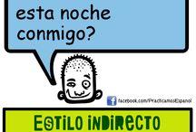 Español-Estilo indirecto