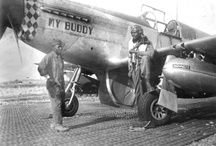 Tuskegee Airmen / The Tuskegee Airmen were the first African-American military pilots in the United States armed forces who fought during World War II.  / by Pritzker Military Museum & Library