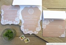 An Elegant Paper Wedding / A wedding board inspired by all things paper <3