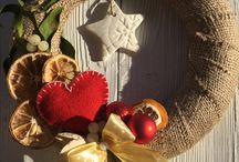 Door decoration - wreath by Erika I.