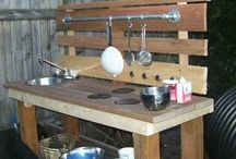 Outdoor Play Kitchens