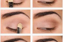 Make up step-by-step