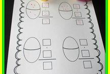 Easter Ideas for Kindergarten